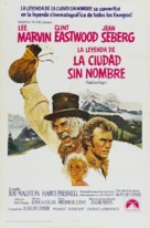 Paint Your Wagon - Spanish Movie Poster (xs thumbnail)