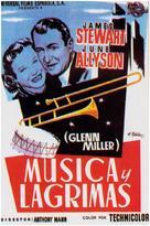 The Glenn Miller Story - Spanish Movie Poster (xs thumbnail)