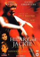 Hilary and Jackie - British DVD cover (xs thumbnail)