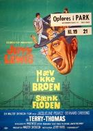 Don't Raise the Bridge, Lower the River - Danish Movie Poster (xs thumbnail)