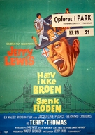 Don't Raise the Bridge, Lower the River - Danish Movie Poster (xs thumbnail)