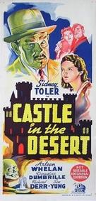 Castle in the Desert - Australian Movie Poster (xs thumbnail)