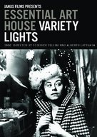 Luci del varietà - DVD cover (xs thumbnail)