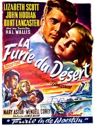 Desert Fury - Belgian Movie Poster (xs thumbnail)