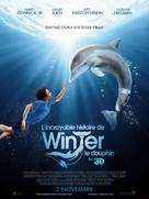 Dolphin Tale - French Movie Poster (xs thumbnail)