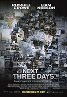 The Next Three Days - Singaporean Movie Poster (xs thumbnail)