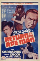 Return of the Ape Man - Re-release poster (xs thumbnail)
