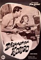 Congo Crossing - German poster (xs thumbnail)