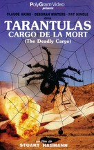 Tarantulas: The Deadly Cargo - French VHS cover (xs thumbnail)