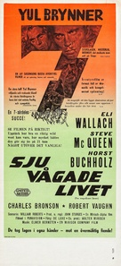 The Magnificent Seven - Swedish Movie Poster (xs thumbnail)
