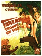Tarzan Finds a Son! - French Movie Poster (xs thumbnail)