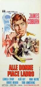 Dead Heat on a Merry-Go-Round - Italian Movie Poster (xs thumbnail)