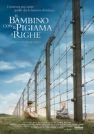 The Boy in the Striped Pyjamas - Italian Movie Poster (xs thumbnail)