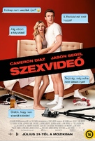 Sex Tape - Hungarian Movie Poster (xs thumbnail)