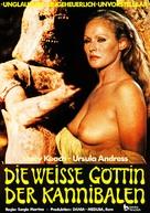 La montagna del dio cannibale - German Movie Poster (xs thumbnail)