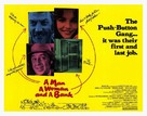 A Man, a Woman and a Bank - Movie Poster (xs thumbnail)