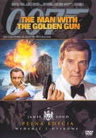 The Man With The Golden Gun - Polish Movie Cover (xs thumbnail)