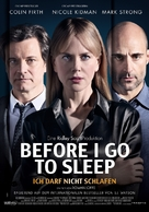 Before I Go to Sleep - Swiss Movie Poster (xs thumbnail)