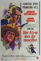 The Man Who Shot Liberty Valance - Argentinian Movie Poster (xs thumbnail)