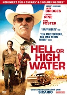Hell or High Water - German Movie Cover (xs thumbnail)