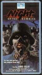 Night of the Zombies - VHS cover (xs thumbnail)