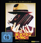 Naked Lunch - German Blu-Ray movie cover (xs thumbnail)