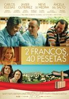 2 francos, 40 pesetas - Spanish Movie Poster (xs thumbnail)