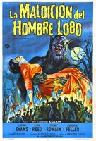 The Curse of the Werewolf - Argentinian Movie Poster (xs thumbnail)