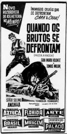 Faccia a faccia - Brazilian poster (xs thumbnail)