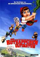 Hoodwinked Too! Hood VS. Evil - German DVD movie cover (xs thumbnail)