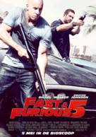 Fast Five - Dutch Movie Poster (xs thumbnail)