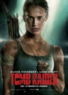 Tomb Raider - Italian Movie Poster (xs thumbnail)