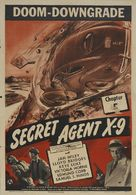 Secret Agent X-9 - Movie Poster (xs thumbnail)