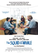 The Squid and the Whale - Danish Movie Poster (xs thumbnail)