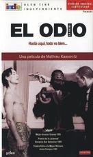 La haine - Spanish VHS movie cover (xs thumbnail)