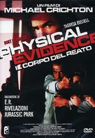 Physical Evidence - Italian DVD cover (xs thumbnail)