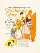 The Unholy Three - poster (xs thumbnail)