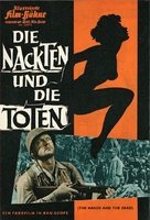 The Naked and the Dead - German poster (xs thumbnail)