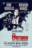 The Heroes of Telemark - British Movie Poster (xs thumbnail)