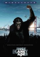 Rise of the Planet of the Apes - DVD cover (xs thumbnail)