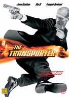 The Transporter - Danish DVD movie cover (xs thumbnail)