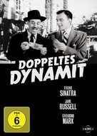 Double Dynamite - German Movie Cover (xs thumbnail)