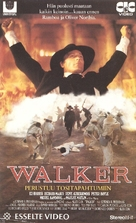 Walker - Finnish VHS movie cover (xs thumbnail)