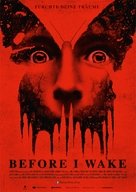 Before I Wake - German Movie Poster (xs thumbnail)