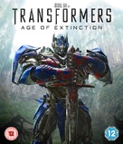 Transformers: Age of Extinction - British Blu-Ray cover (xs thumbnail)