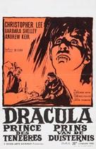 Dracula: Prince of Darkness - Belgian Movie Poster (xs thumbnail)