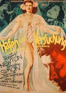 Temptation Harbour - German Movie Poster (xs thumbnail)