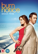 """Burn Notice"" - British DVD movie cover (xs thumbnail)"