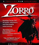 Zorro - Blu-Ray cover (xs thumbnail)