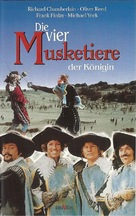 The Four Musketeers - German Movie Cover (xs thumbnail)